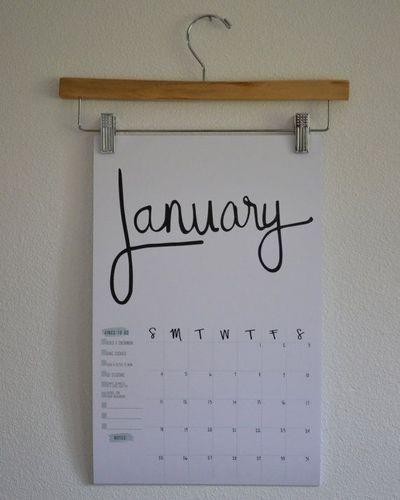 تقویم دیواری خلاقانه