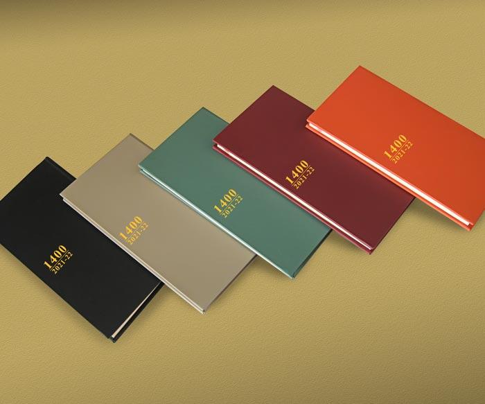 طراحی و چاپ سالنامه با جلد گالینگور