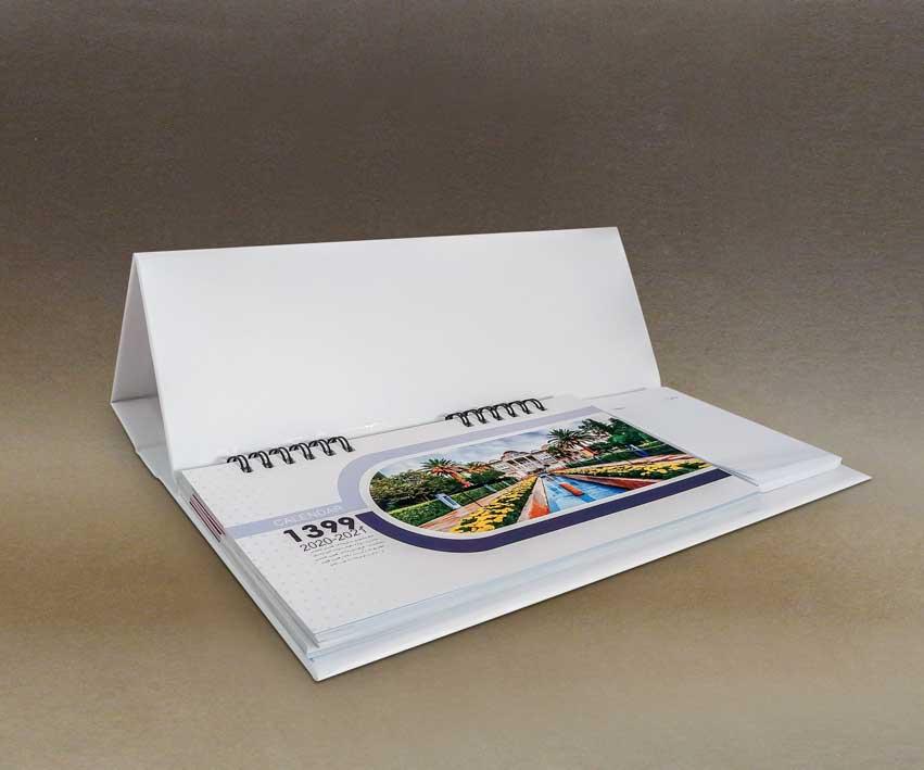 طراحی و چاپ تقویم رومیزی 1400