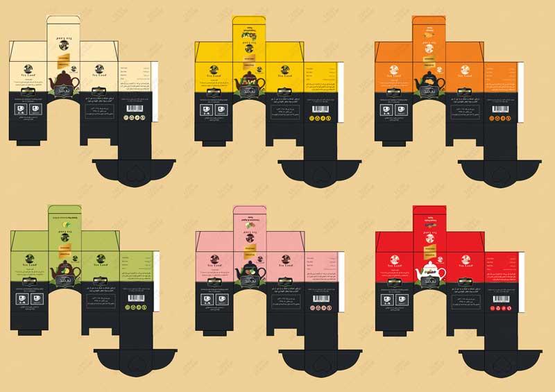 طراحی و چاپ جعبه با قالب خاص