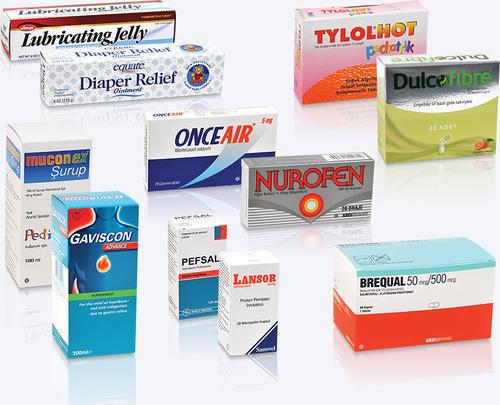 چاپ جعبه های دارویی