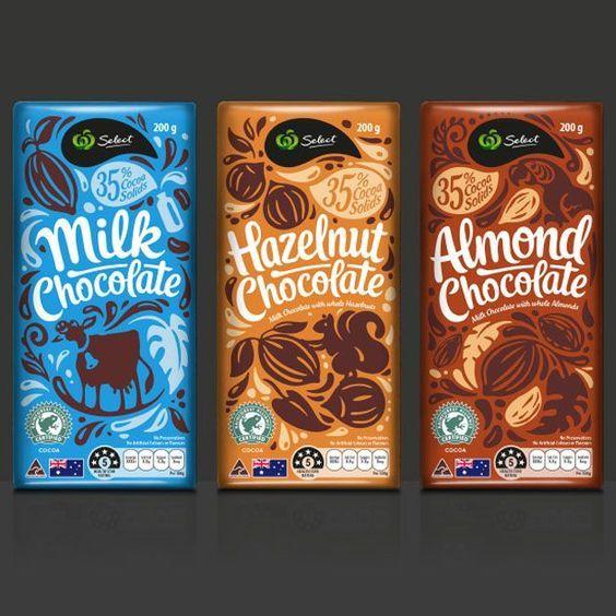 طراحی جعبه شکلات