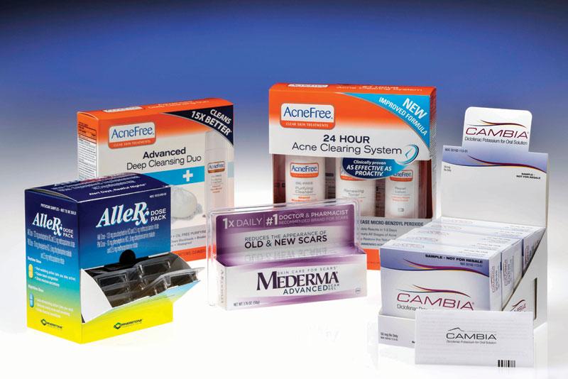 برجسته کاری و طلاکوبی جعبه های دارویی