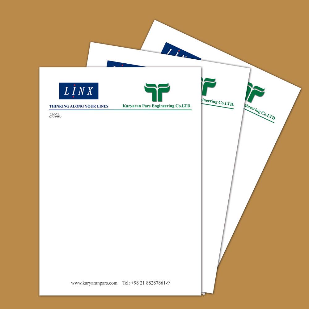 طراحی برگه های یادداشت