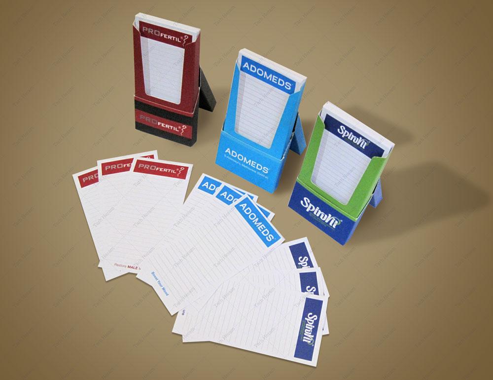 طراحی و چاپ دفترچه یادداشت تبلیغاتی