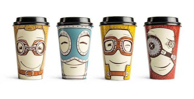 طراحی و تولید لیوان کاغذی