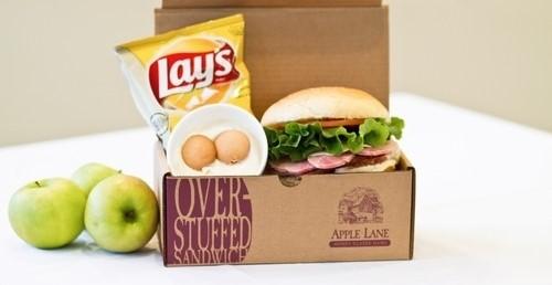 طراحی و چاپ جعبه ساندویچ قفلی