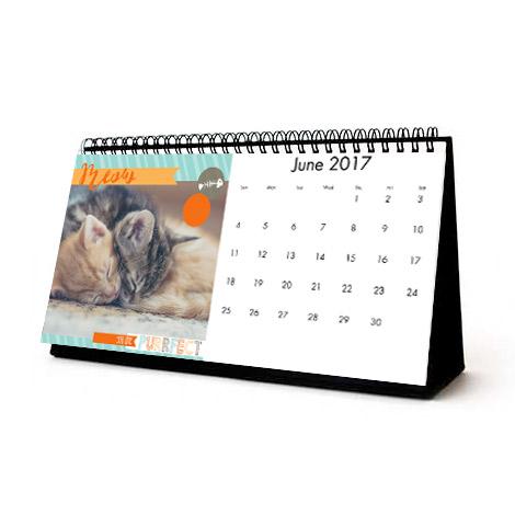 تقویم رومیزی با پایه ایندلبورد