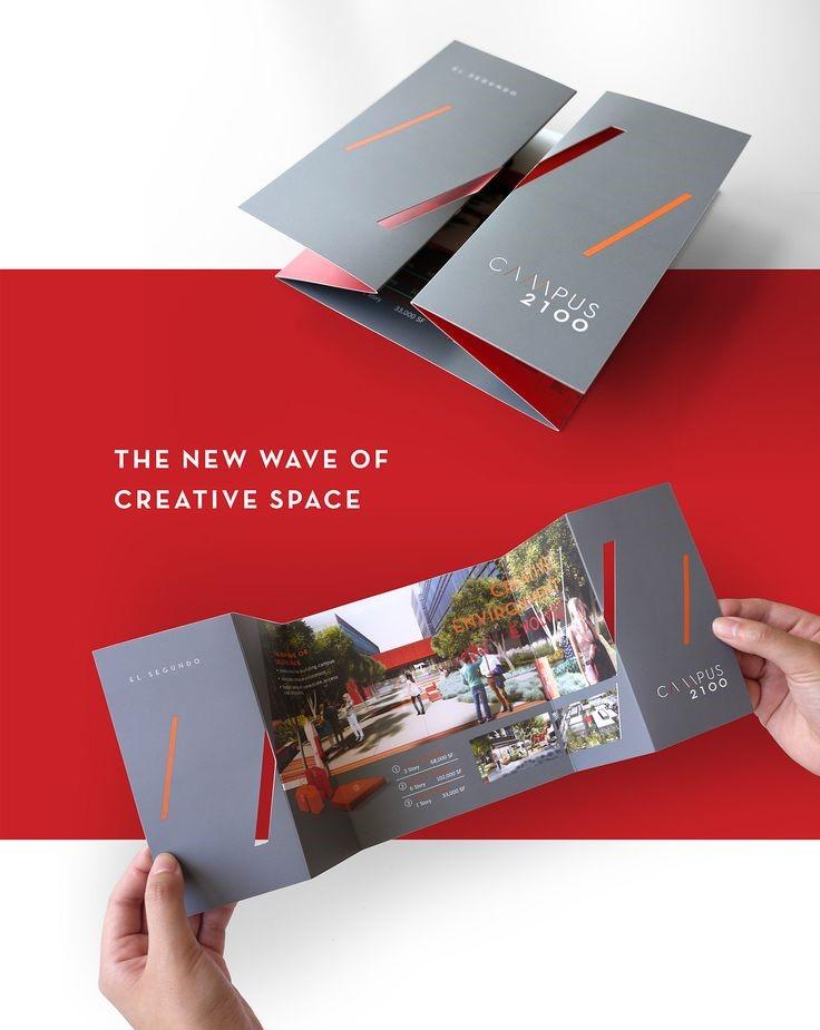 طراحی بروشور خلاقانه