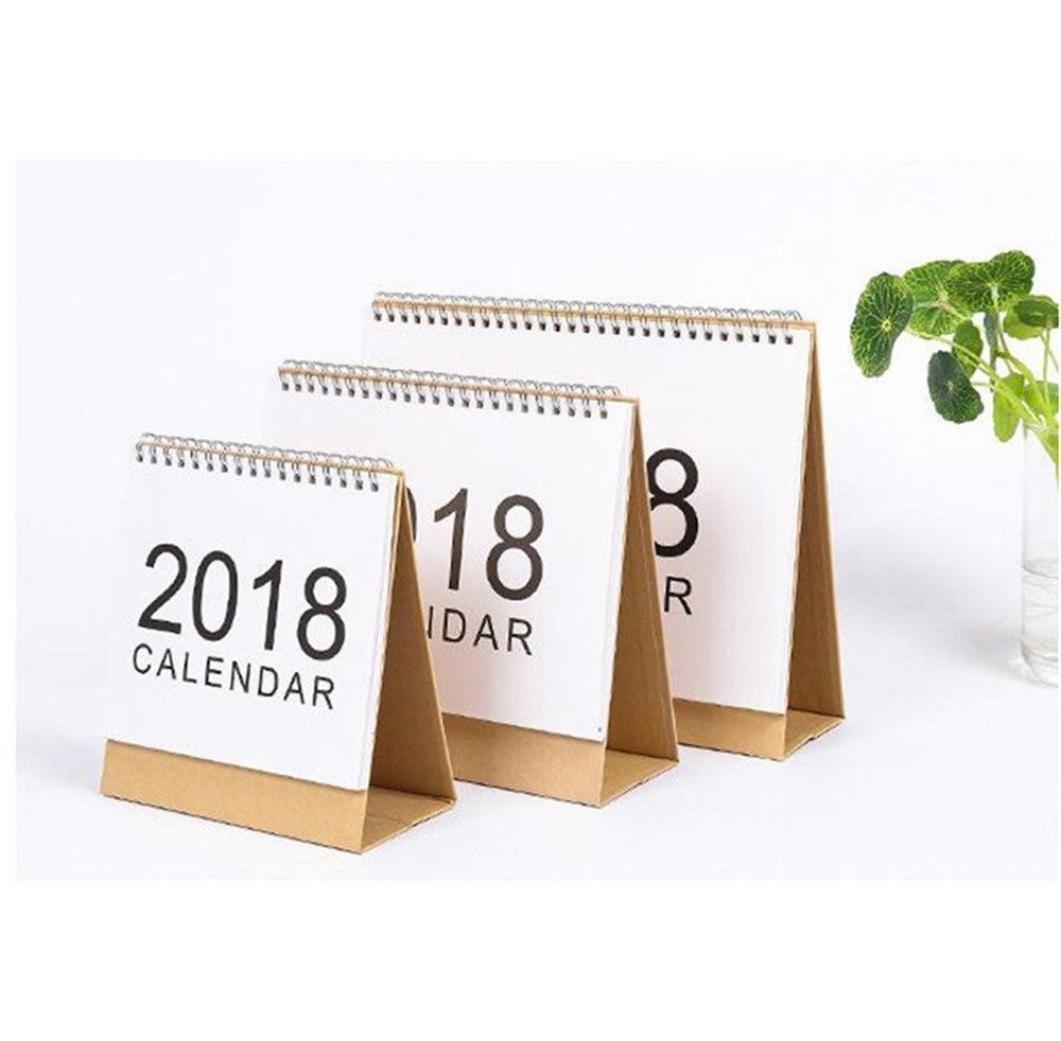 تقویم رومیزی با کاور مقوایی