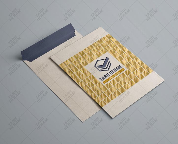 چاپ و تولید پاکت درب روی عرض
