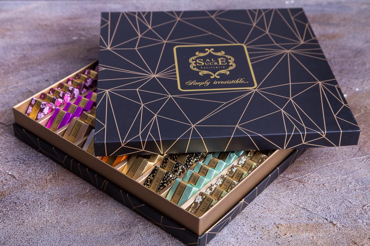 چاپ و تولید جعبه ي شکلات