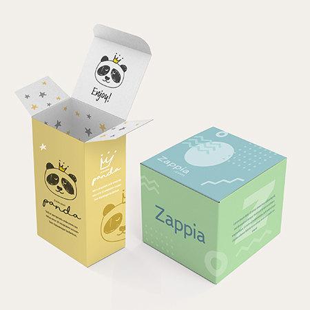 طراحی و چاپ جعبه یک طرف چسب
