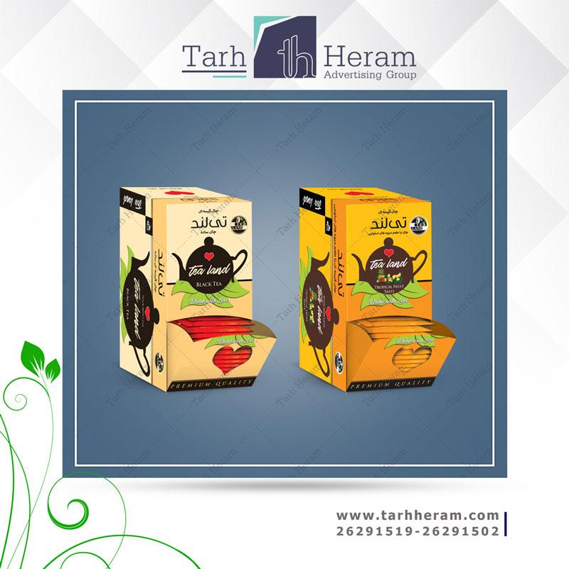 طراحی جعبه چای