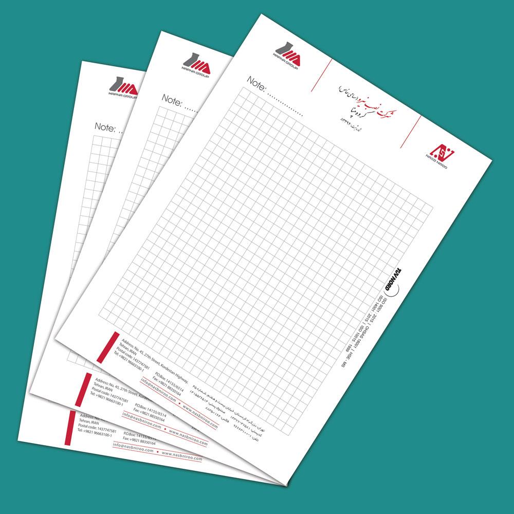 Digital Printing of Note Sheets