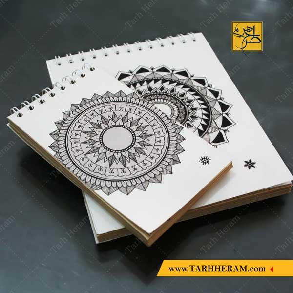 دفترچه یادداشت با جلد فانتزی