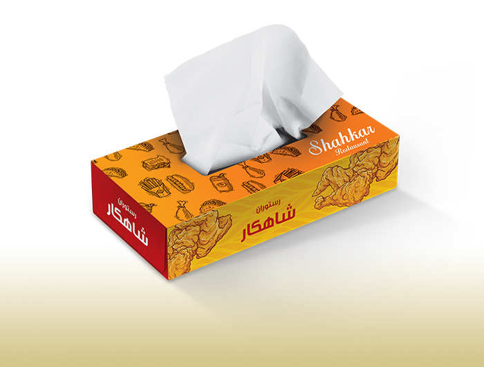 جعبه دستمال کاغذی اختصاصی  |  TR-1029