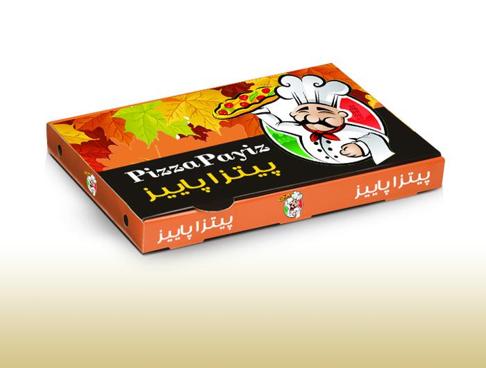 جعبه پیتزا لمینیتی 3 لایه بزرگ  |  TF - 1021