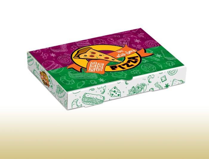 جعبه پیتزا  لمینیتی  |  TF - 1022