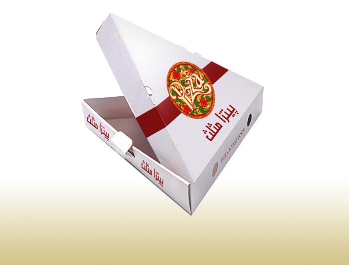 جعبه پیتزا 1 لایه مدل مثلثی  |  TF - 1028