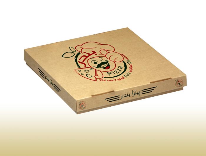 جعبه پیتزا مدل درب جدا  |  TF - 1026
