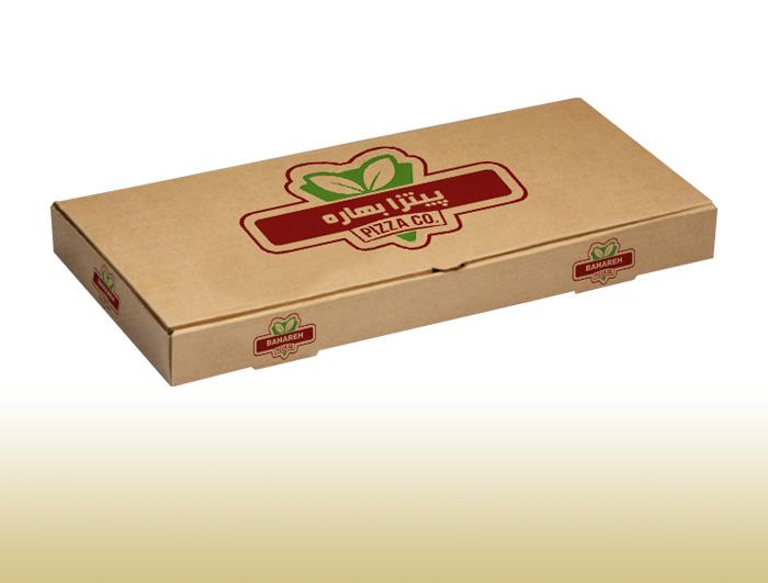 جعبه پیتزا 3 لایه مستطیلی  |  TF - 1027