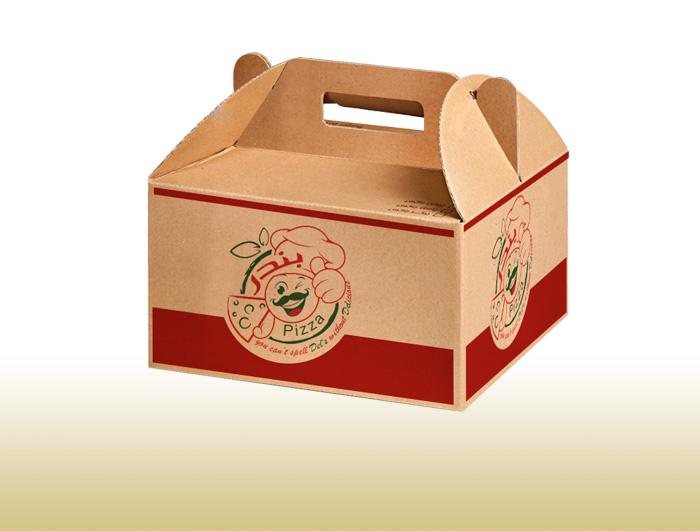 جعبه بیرون بر پیتزا مدل چندتایی  |  TF - 1030