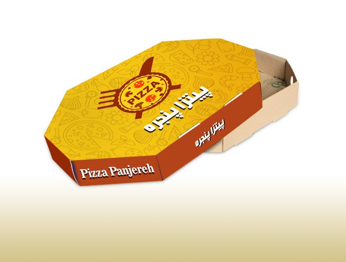 جعبه پیتزا 8 ضلعی  |  TF - 1113