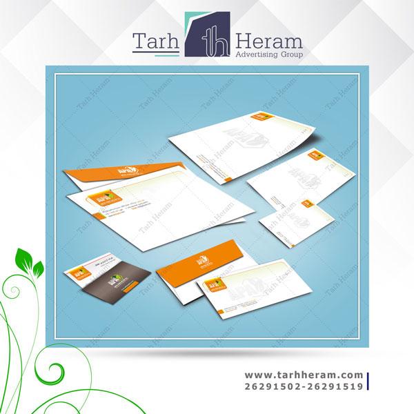 طراحی ست اداری شرکت آرتا پارس