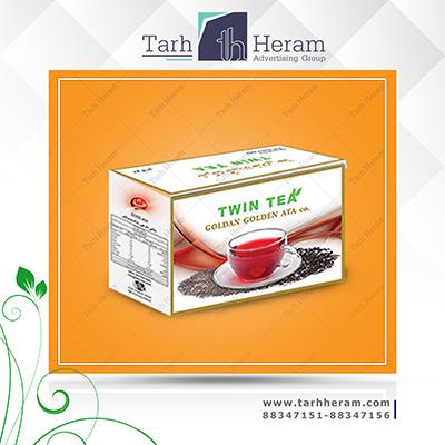 طراحی جعبه چایی عطا