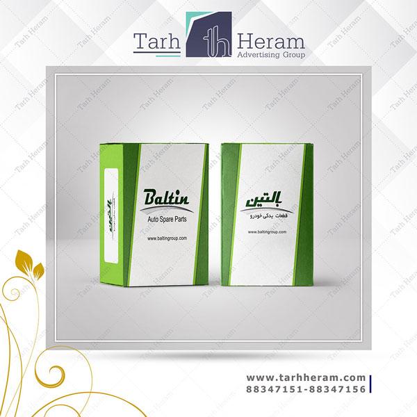 طراحی جعبه Baltin